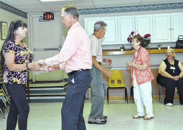 Pittston Active Adult Center offers ballroom dance lessons