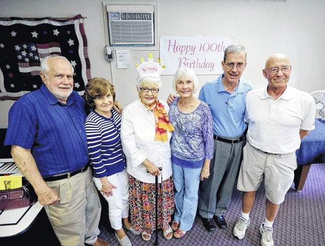 West Pittston woman celebrates 100th birthday at Falls Active Adult Center