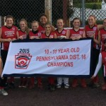 Pittston Area's 10-11 claims District 16 softball championship