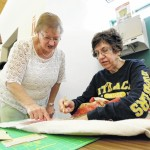 Wyoming Free Library hosts quilting club every Friday