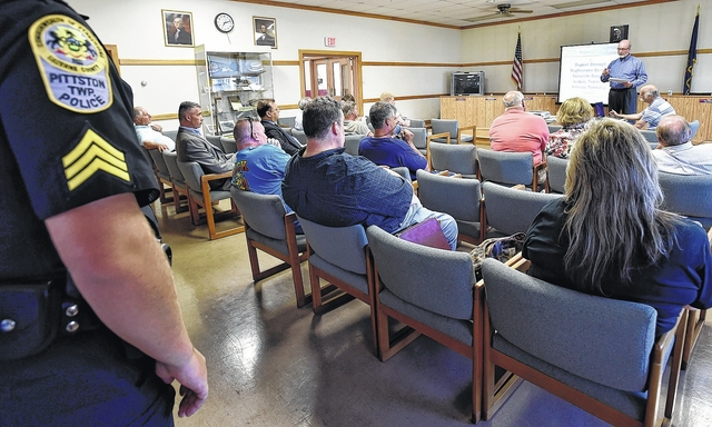 Police, public get facts on police regionalization study for five Pittston area towns