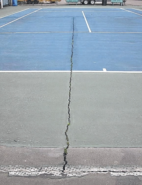 Wyoming Area tennis courts deemed dangerous; may be shut down for good