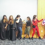 Teen summer readers attend Cosplay Party at Pittston Memorial Library