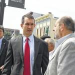 Pennsylvania Auditor General Eugene DePasquale tours city, impressed with Pittston's progress