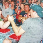 Arm to Arm wrestling tournament held at Four Seasons Golf Course in Exeter