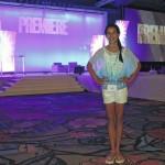Gia Innamorati, Duryea, participates in Disney's 'Premiere' event in Orlando, Florida