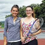 Many open spots on Pittston Area girls tennis team due to graduation