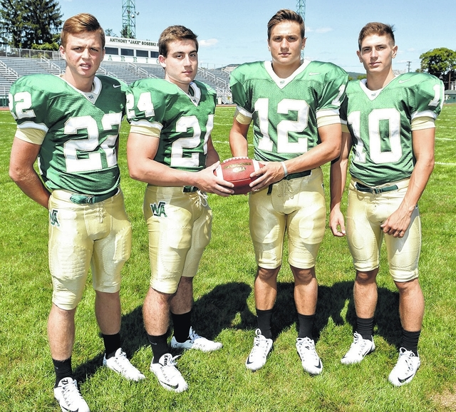 Wyoming Area football strengthens offense to go toe-to-toe with bigger schools
