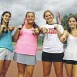 Three Wyoming Area seniors back to continue girls tennis success