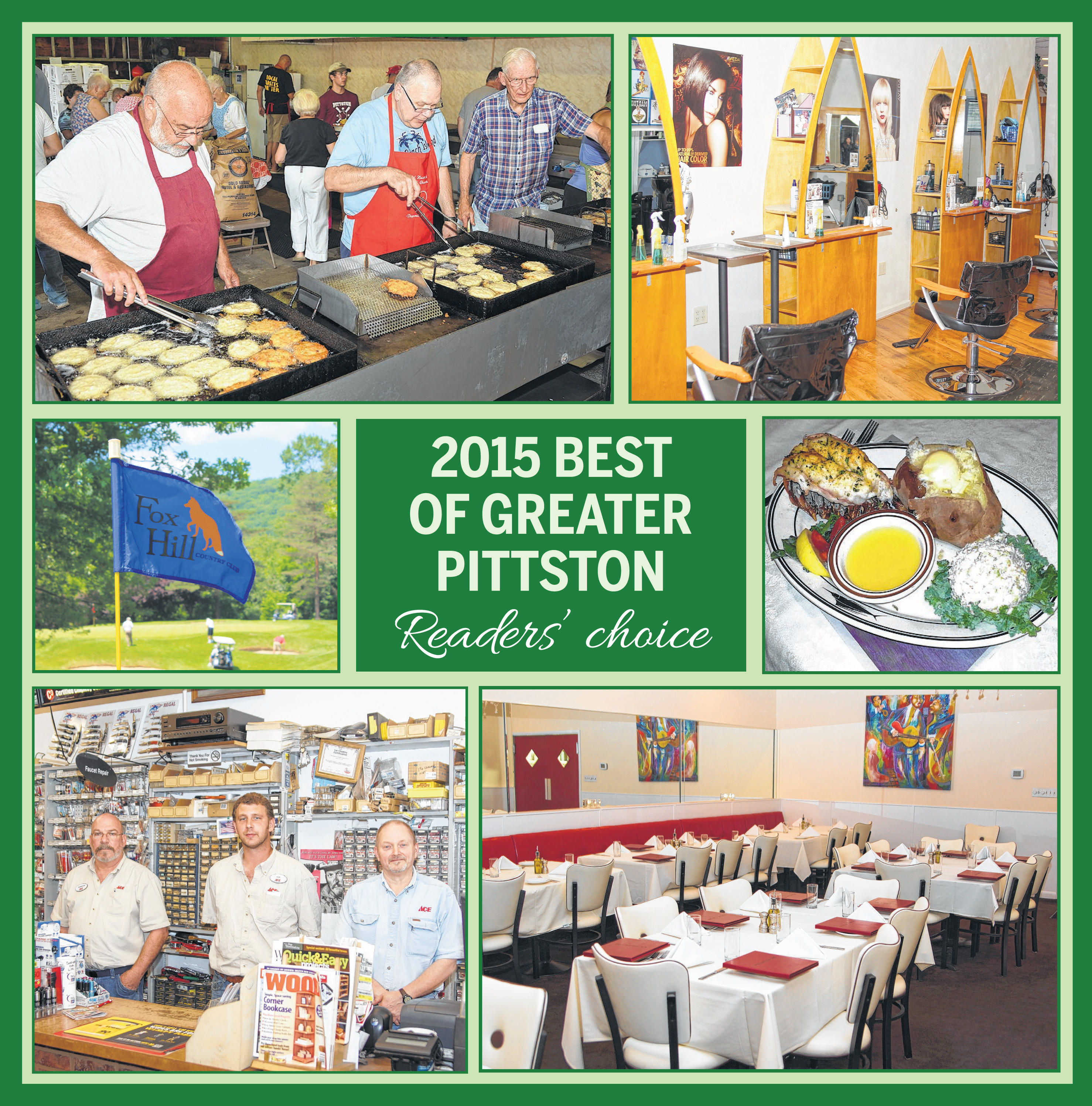 Best of Greater Pittston 2015
