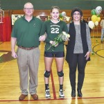 Wyoming Area honors senior volleyball players