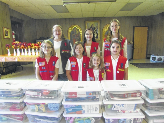 Pittston Frontier Girl Scouts to distribute Jared Boxes to sick children at Wyoming Valley Geisinger for holidays