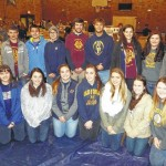 Old Forge High School students volunteer for UNC Thanksgiving Program