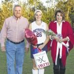 Pittston Area field hockey seniors honored