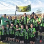 Pittston Stoners U-13 Girls capture 2015 County Cup title