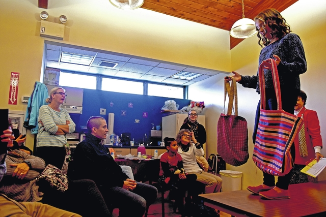 Wyoming Free Library Sewing Club shows stylish work at fashion show