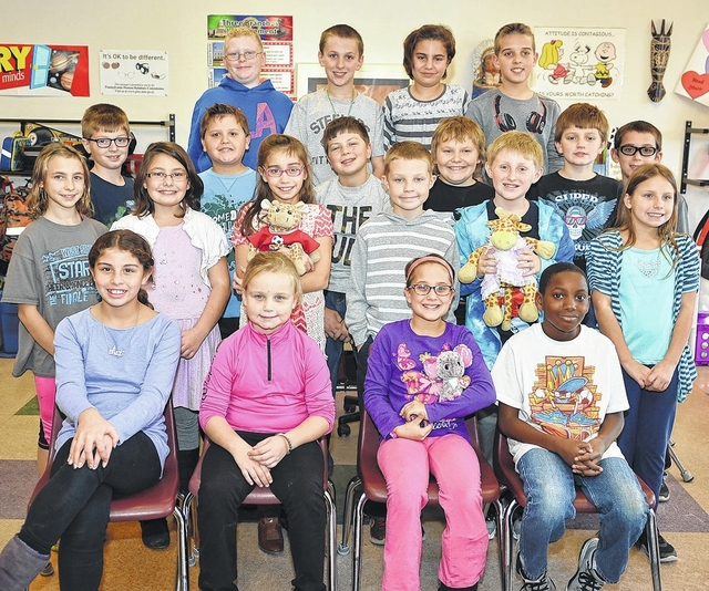 Fourth grade students at Tenth Street Elementary in Wyoming discuss what Thanksgiving means to them