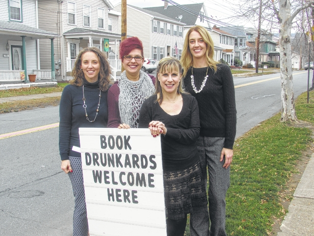 West Pittston Library features humorous outdoor signs to reflect welcoming atmosphere