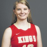The Next Level: King's College freshman Erin Schmidt, an Avoca resident, starting career off nicely