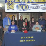 Old Forge football players announce college choices on National Signing Day