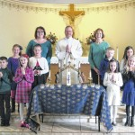 Our Lady of the Eucharist Parish in Pittston celebrates First Reconciliation