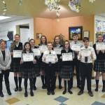 Wyoming Area Catholic School students participate in National Geographic Bee