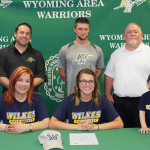 Four Wyoming Area athletes to continue athletic careers in college