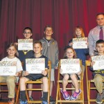 Devil Pride students announced for April by the Old Forge Elementary School