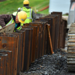 Duryea flood protection project making progress, expected to be completed in June