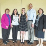Wyoming Valley Woman's Club awards scholarship to Pittston Area student Hayley Norwillo