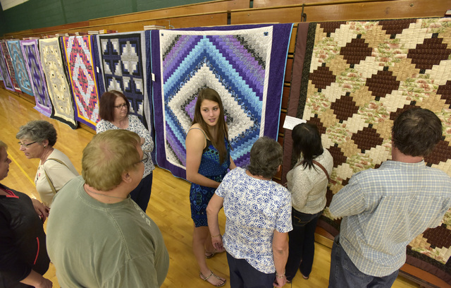 Wyoming Area seniors show off their sewing skills during quilt show May 25