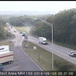 Isolated areas of traffic congestion should do little to slow the morning commute