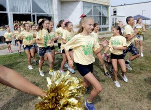 Wyoming Area hosts cheerleading camp July 25-28