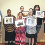 UNC Youth present artwork for governor's northeast office