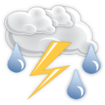Showers and thunderstorms, possible windy conditions and heavy rainfall today for Luzerne County