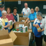 Greater Pittston Food Pantry of St. John the Evangelist Parish Care and Cocnern Ministries celebrating its eighth anniversary