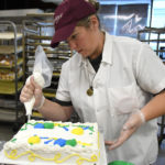 Cake decorators at Gerrity's Supermarkets learn tricks of the trade on the job