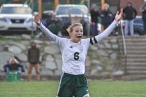 Girls soccer: Off the bench, Casey McNew leads Wyoming Area to District 2 playoff win