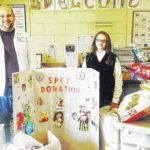 Holy Rosary School students collect items for Christmas