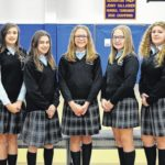 Wyoming Area Catholic School Builders Club installs officers and members