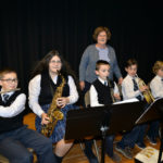 Holy Rosary School Band preparing for spring concert