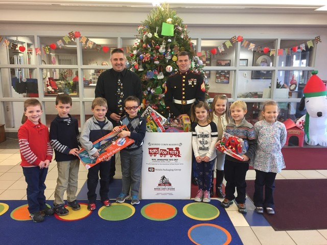 Toys For Tots Sign Up Application Form : The sunday dispatch students at martin f quinn primary