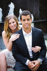 Gabrielle Thomas and Michael Santiago to exchange vows