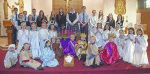 Wyoming Area Catholic School celebrates Holy season