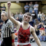 Hazleton Area's Jimmy Hoffman wins 'hyped' districts wrestling match