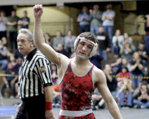Hazleton Area's Jimmy Hoffman wins 'hyped' districts wrestling match