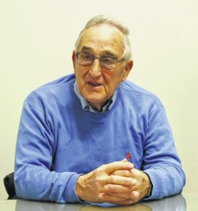 Exeter Borough Mayor Herman Castellani announces candidacy for four-year term as mayor