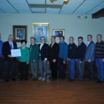 Reilly Associates presents $1,000 donation to John F. Kennedy Statue Committee