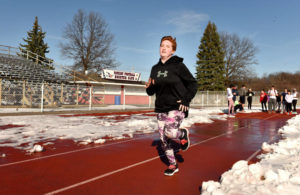 Newcomers expected to provide depth for Pittston Area girls track team