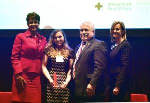 Pittston YMCA employee Madeline Dworak credited with saving member's life